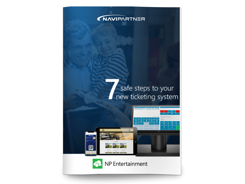 Front page of 7 safe steps to your new ticketing system