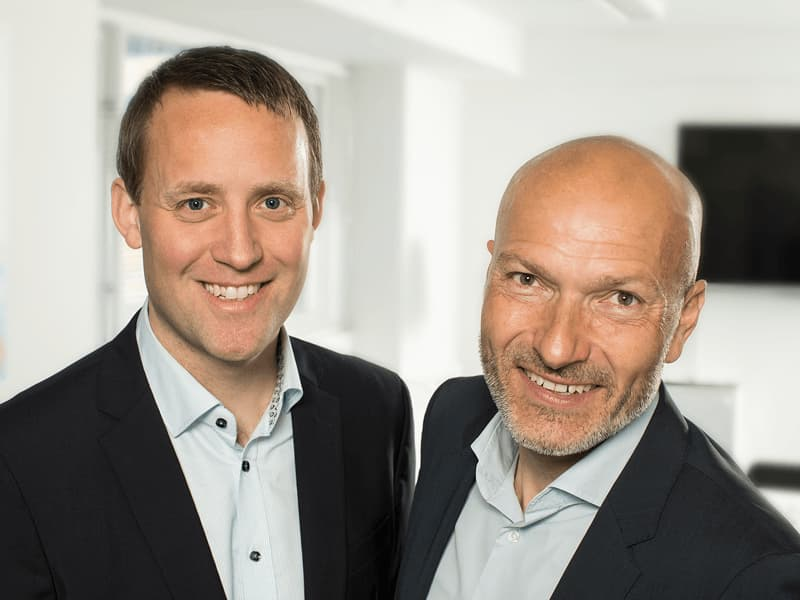 Niels Monsen Chief Strategy Officer and Michael Garver Burgaard Chief Sales Officer at NaviPartner