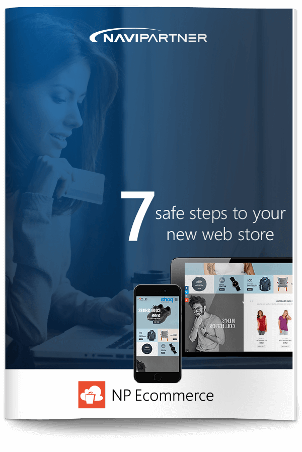 "Frontpage of ""7 secure steps to your new ticketing system"" with red seven"