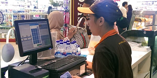 NP Retail POS solution from NaviPartner in Rotiboy bakeries in Indonesia