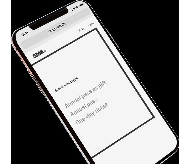 Ticket on iPhone to Moesgaard Museum