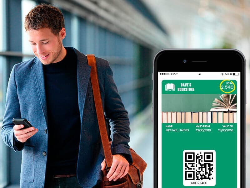 Loyalty cards and coupons in Wallet