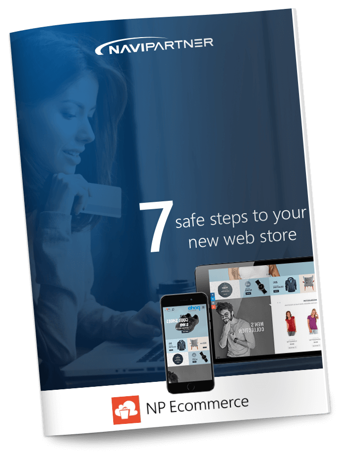 "NP Entertainment Whitepaper - Frontpage of ""7 secure steps to your new ticket system"" with a seven"