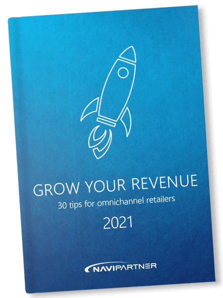 Blue book with a rocket icon
