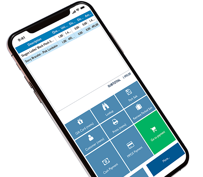 mPOS on iPhone for payment