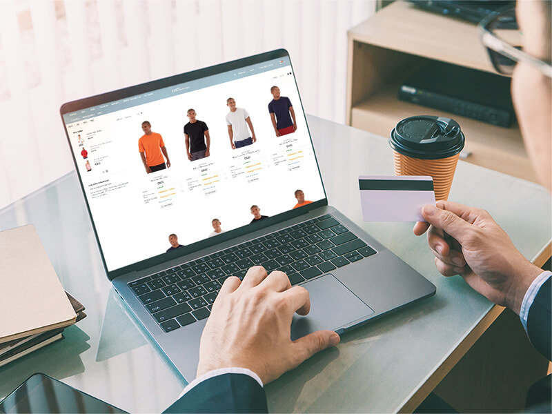 B2B Web store with NP Retail