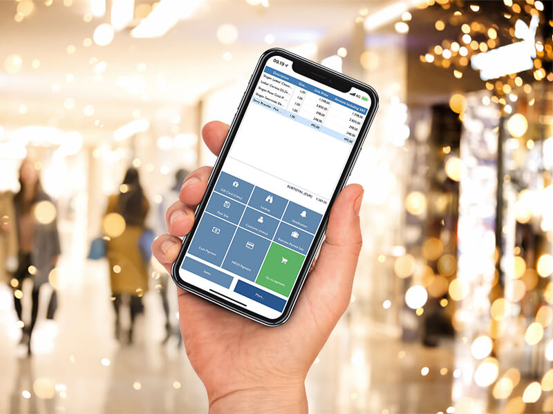 Mobile POS for Christmas